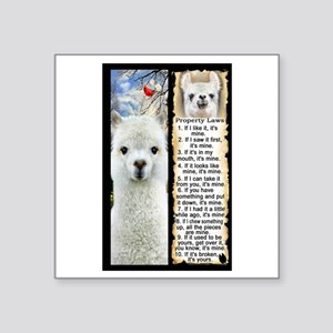 LLAMA Rules LLAMA LOVER Sticker